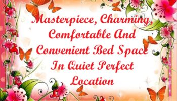 0 - Masterpiece, Charming, Comfortable And Convenient Bed Space In Quiet Perfect Location.JPG