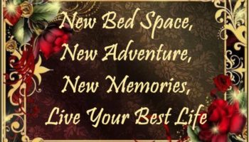 0 - New Bed Space, New Adventure, New Memories, Live Your Best Life.JPG