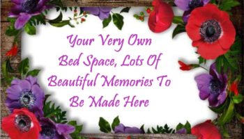0 - Your Very Own Bed Space, Lots Of Beautiful Memories To Be Made Here.JPG