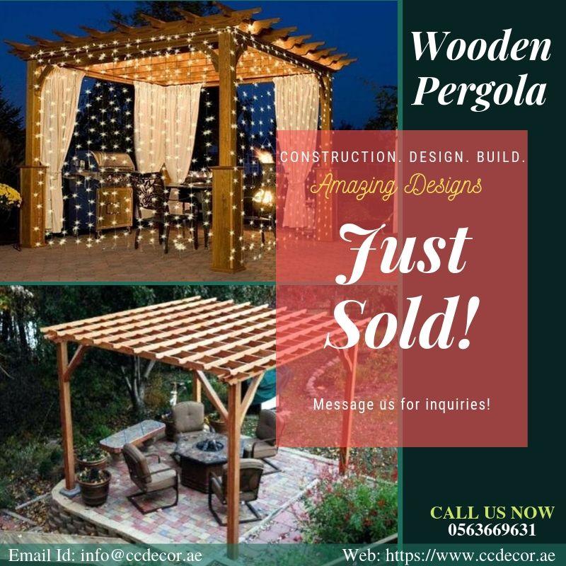 Design And Build Wooden Pergola In Dubai Kargal