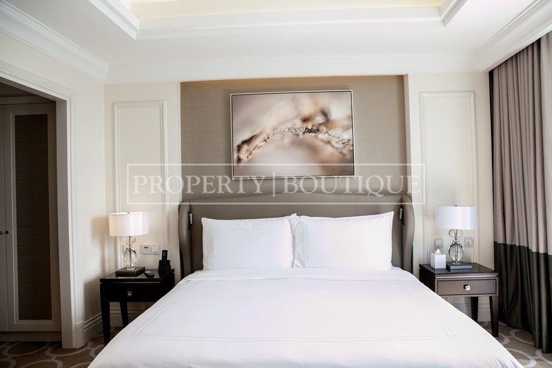 Burj Khalifa view | Corner 2 Bed | Address Blvd - Image 7