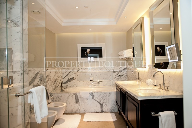Burj Khalifa view | Corner 2 Bed | Address Blvd - Image 9