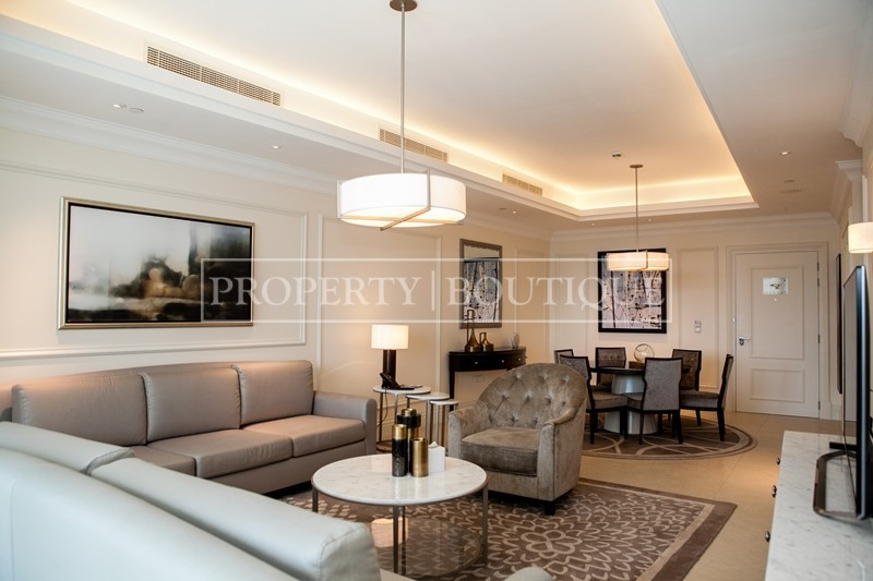 Best 2 Bedroom | Burj Khalifa and Fountain view - Image 2