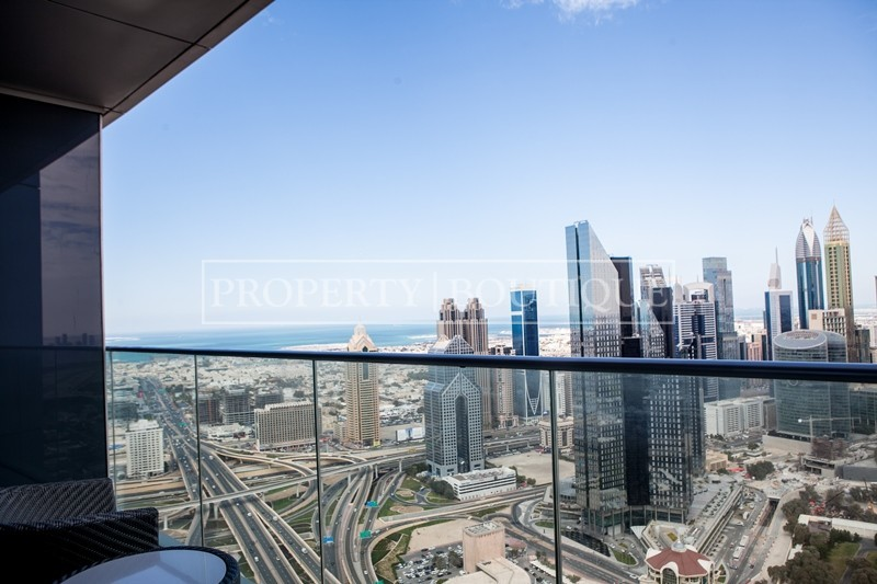 City and Sea View | 2 Bedroom | High Floor - Image 1