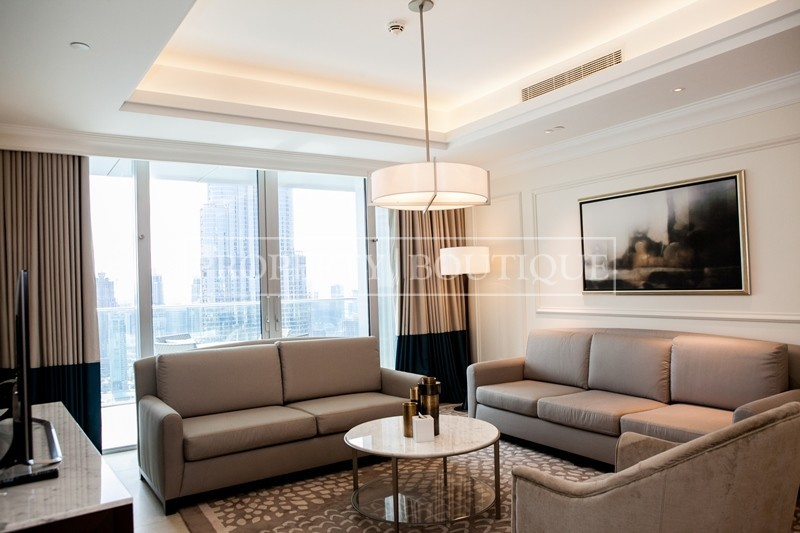 Best 2 Bedroom | Burj Khalifa and Fountain view - Image 6