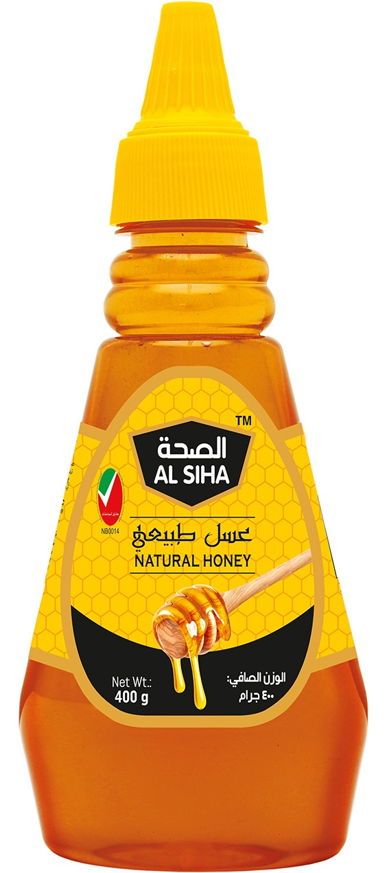 AL SIHA Natural Honey 400gm Squezee Pet Dome