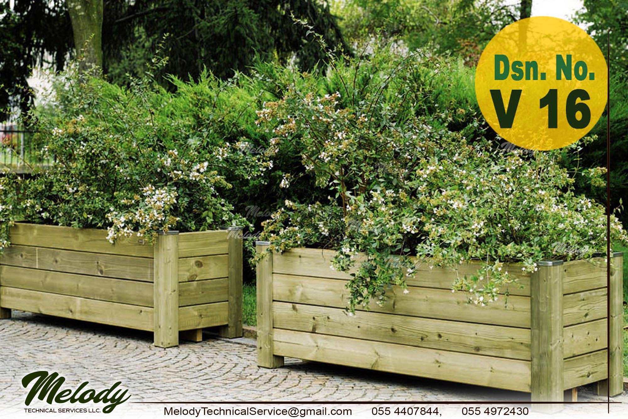Garden Planters  Vegetable Planters Box, Dubai  Wooden Planters (3).jpg