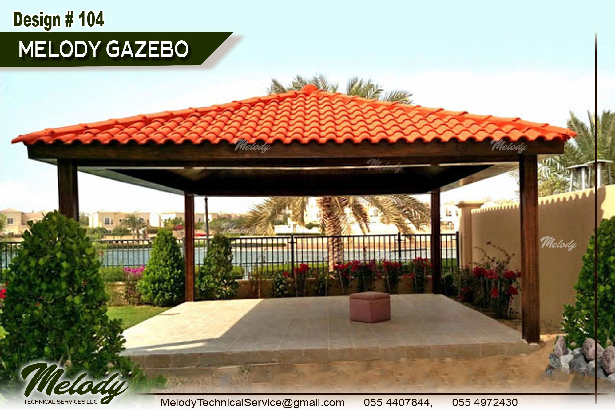 Gazebo Design In Dubai , Wooden Gazebo , Garden Gazebo in Dubai (5).jpg