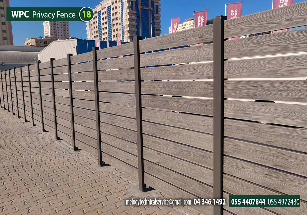 Composite Wood fence, Dubai  , Picket Fence  Wooden Fence in Dubai (1).jpg