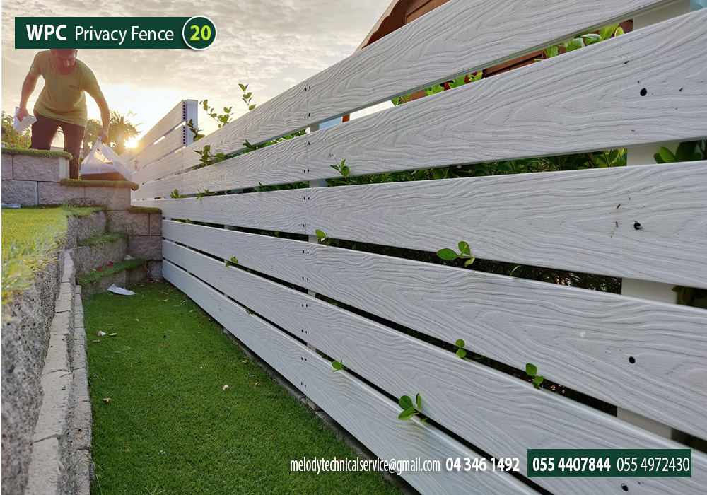 Composite Wood fence, Dubai  , Picket Fence  Wooden Fence in Dubai (4).jpg