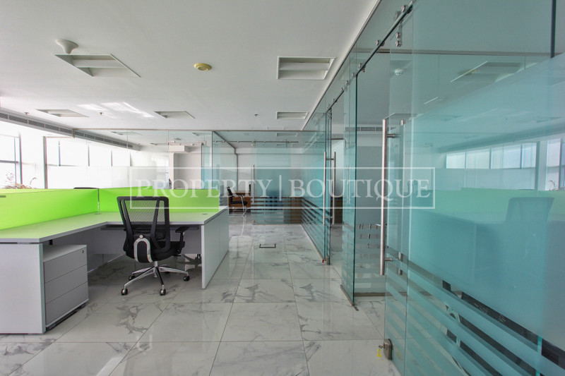 8.5% Net ROI | Full Floor | 8 Furnished Offices - Image 1