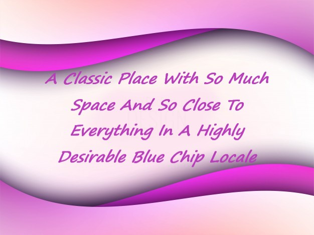 1 A Classic Place With So Much Space And So Close To Everything In A Highly Desirable Blue Chip Locale.JPG
