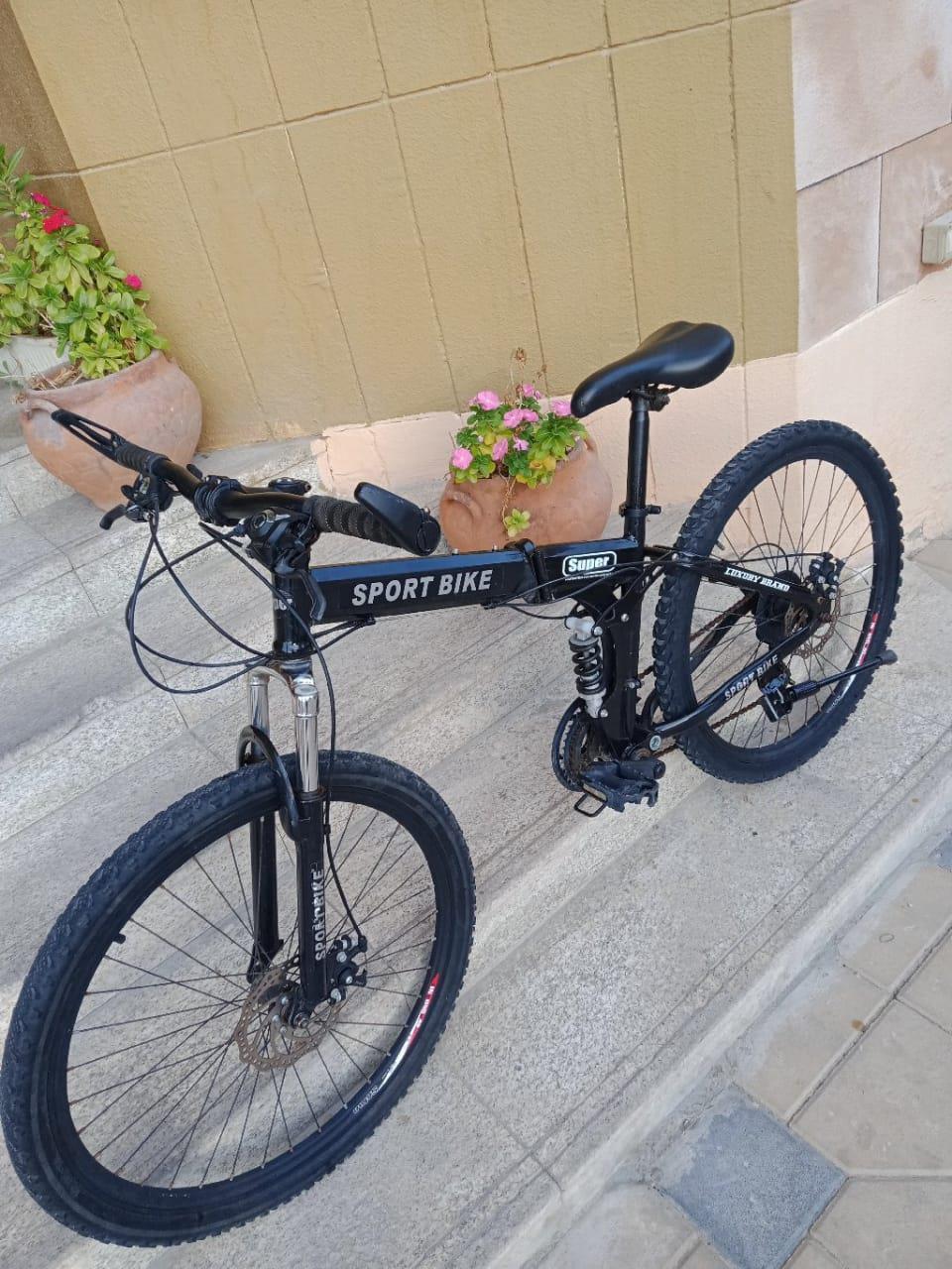 Super sport folding MTB 26in bike for sale in Dubai - Image 2