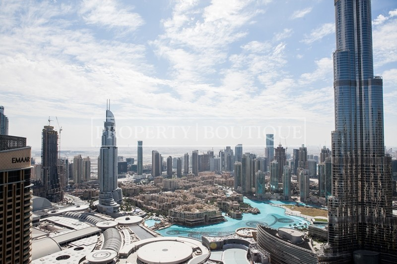 Mid Floor | Burj and Partial Fountain view - Image 9
