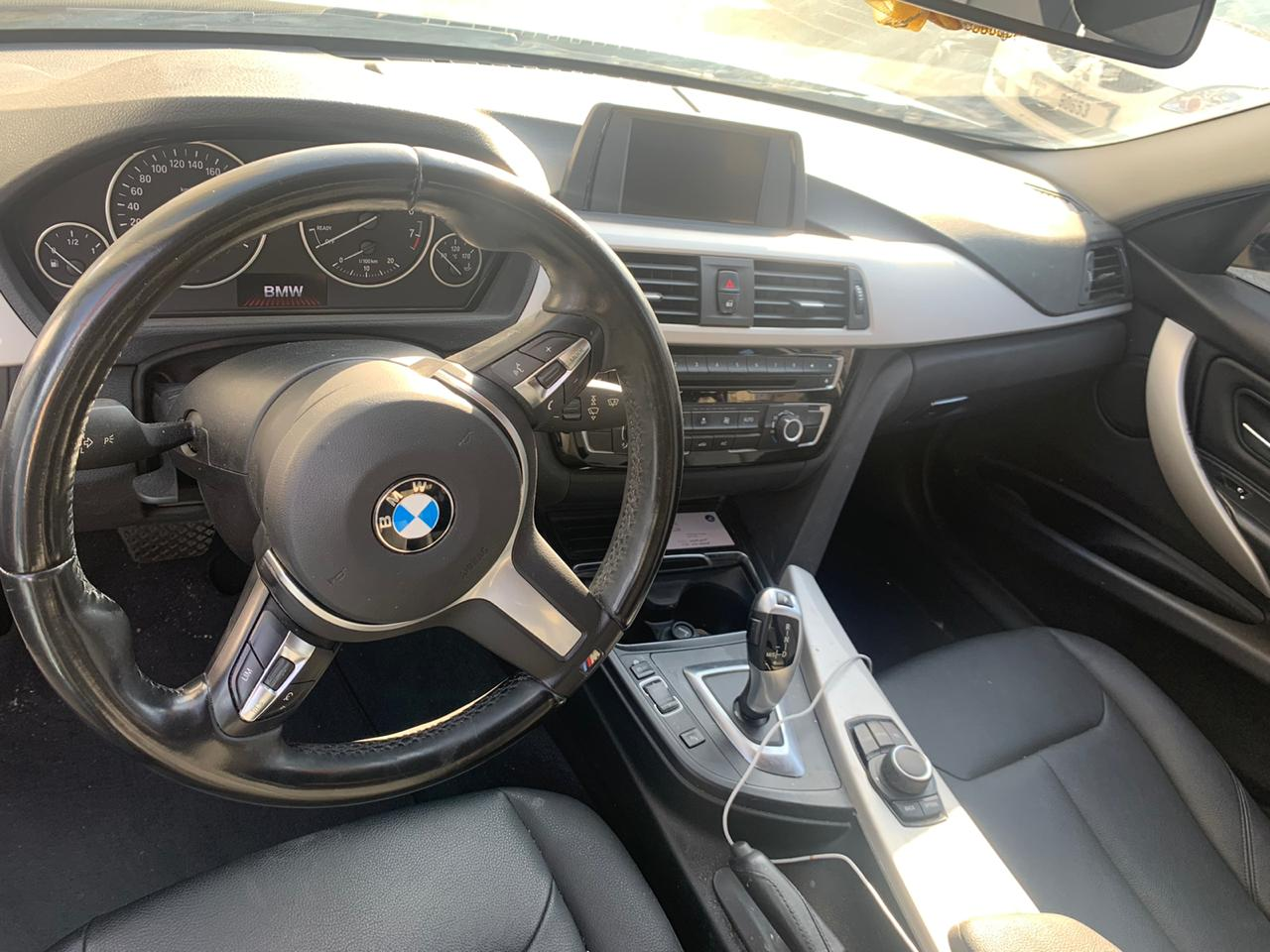 BMW 318i Metal Grey in Dubai - Image 1