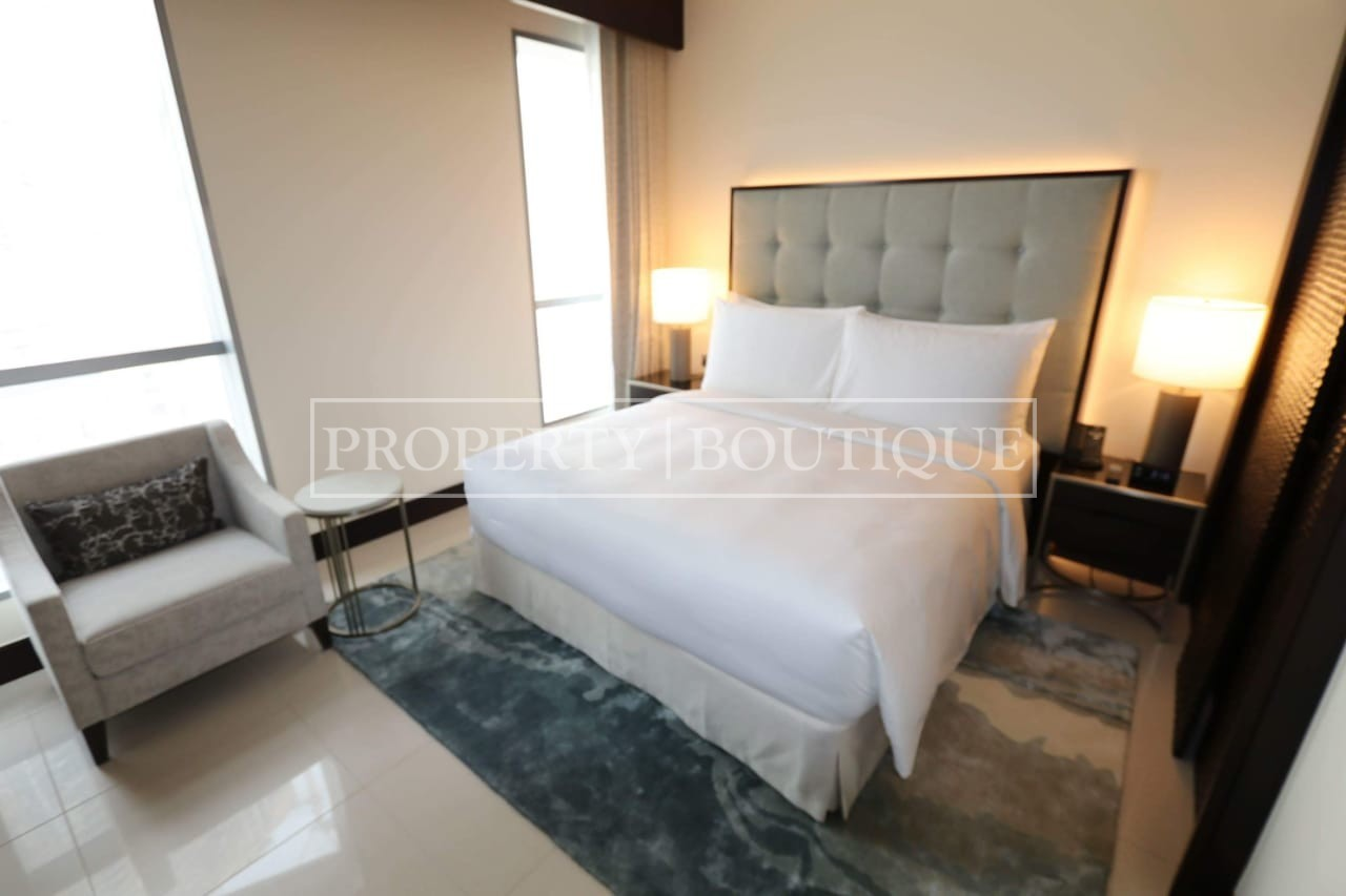 Meydan and Canal Views | Vacant | Serviced 1 Bed - Image 5
