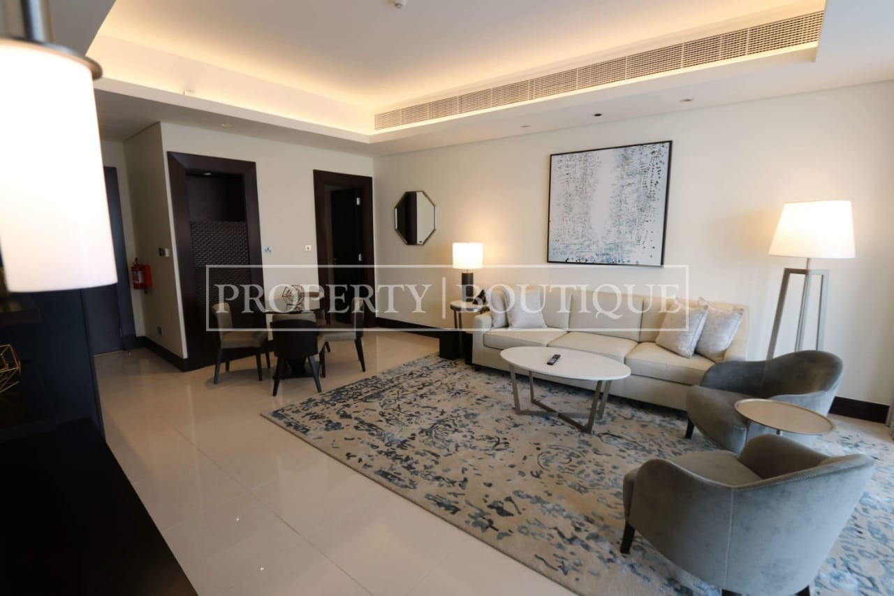 Meydan and Canal Views | Vacant | Serviced 1 Bed - Image 2