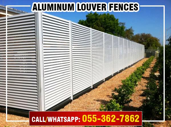 Aluminum Louver Fences in UAE.jpg
