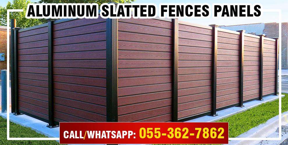 Aluminum Slatted Fences Panels in UAE.jpg