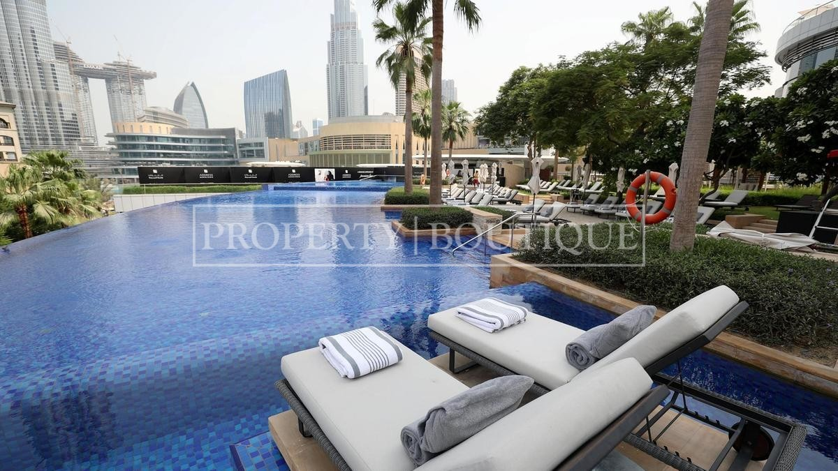 Meydan and Canal Views | Vacant | Serviced 1 Bed - Image 11