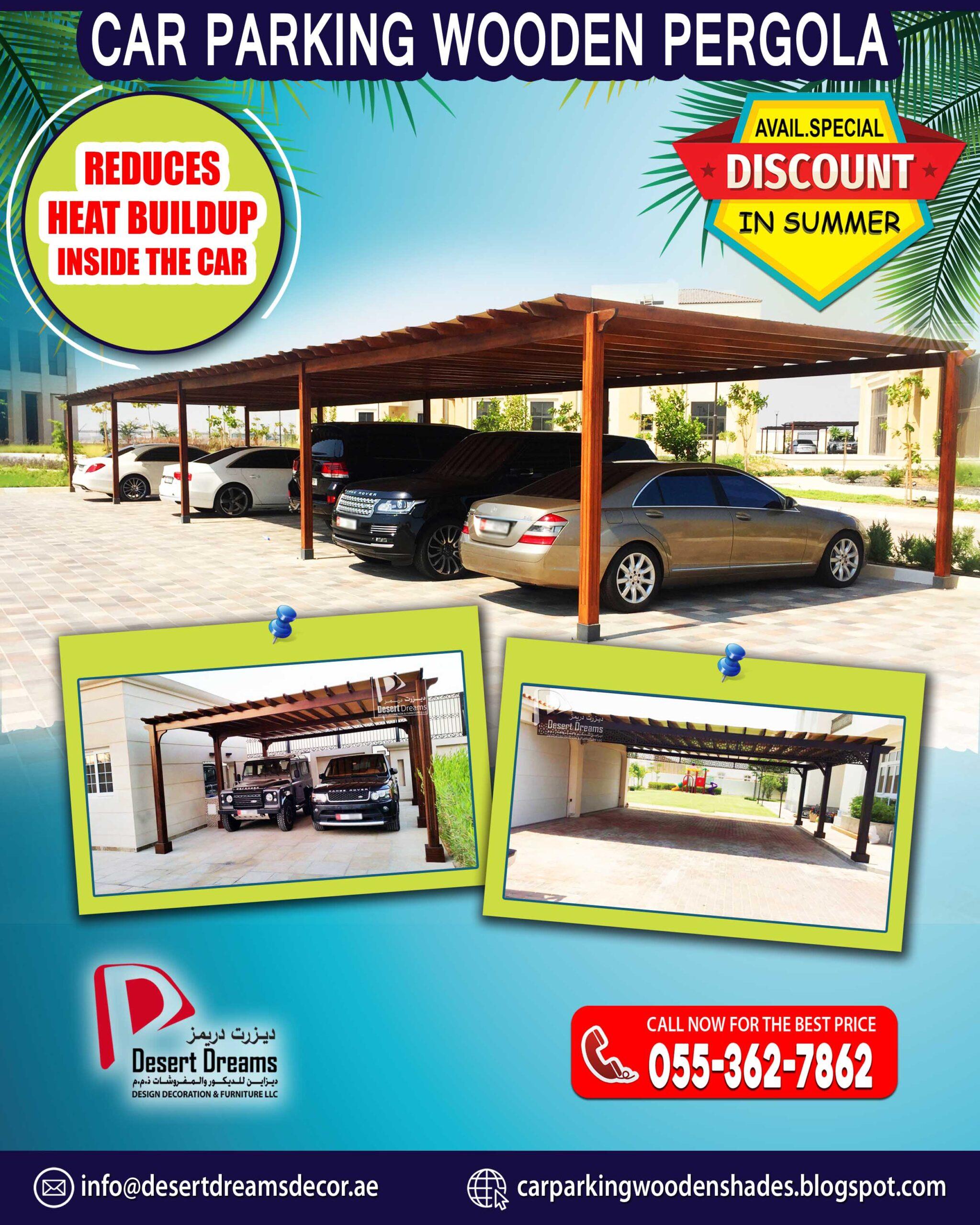 Car Parking Wooden Pergola Suppliers in UAE.jpg