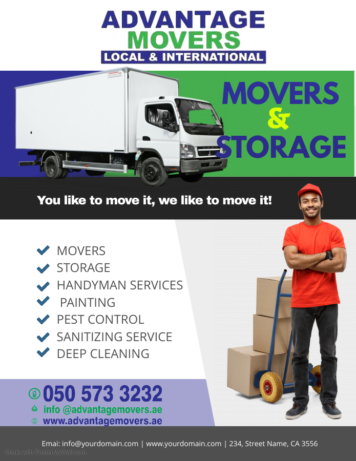 Copy of Moving Company Service Flyer Poster Template - Made with PosterMyWall.jpg