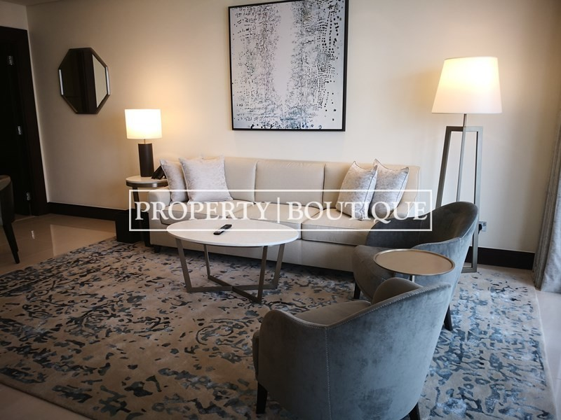 Meydan and Canal Views | Vacant | Serviced 1 Bed - Image 4