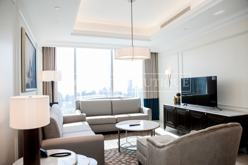 Mid Floor | Burj and Partial Fountain view - Image 1