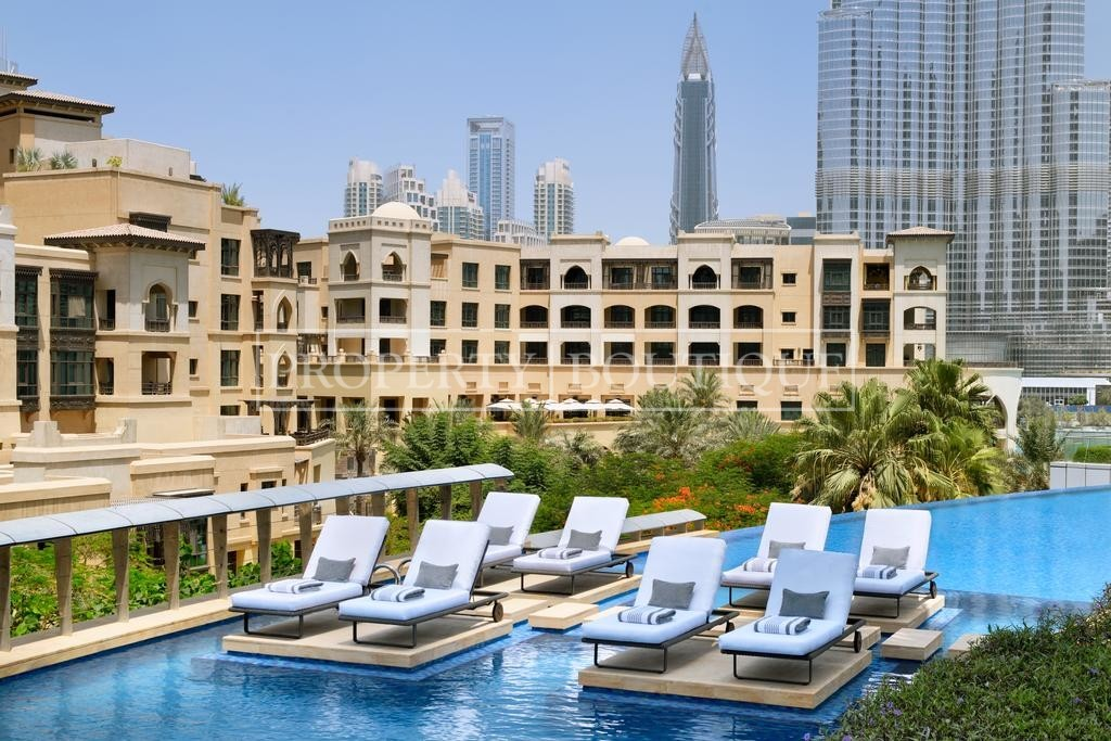 Burj and Fountain View | Fully Serviced - Image 12