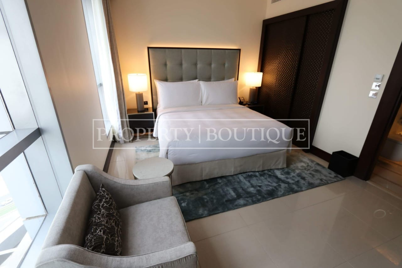 Meydan and Canal Views | Vacant | Serviced 1 Bed - Image 6