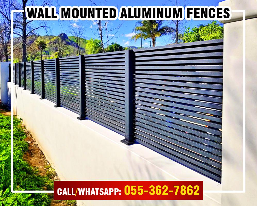 Wall Mounted Aluminum Fences in UAE.jpg