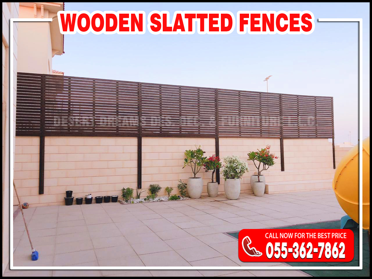 Wooden Privacy Slatted Fences in Abu Dhabi, UAE-2.jpg