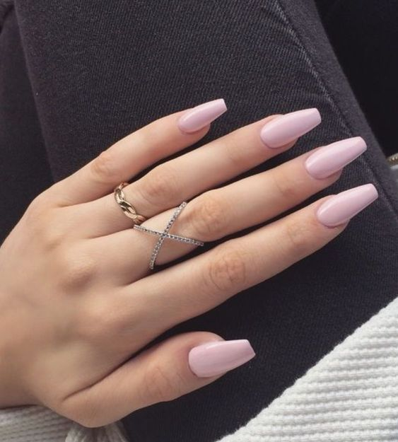 Acrylic Extensions French Nails in Dubai - Image 3