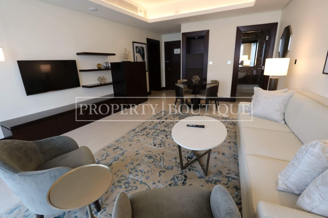 Meydan and Canal Views | Vacant | Serviced 1 Bed - Image 1