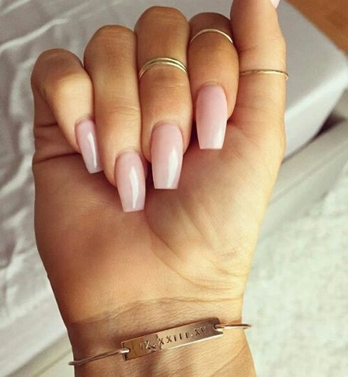Acrylic Extensions French Nails in Dubai - Image 1