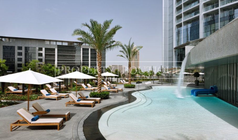 Mid Floor | Burj and Partial Fountain view - Image 16