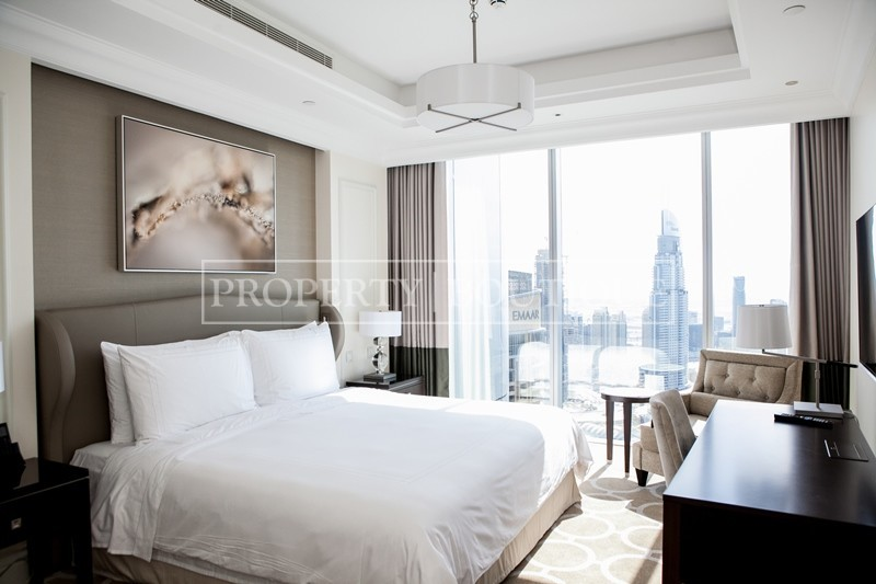 Mid Floor | Burj and Partial Fountain view - Image 5
