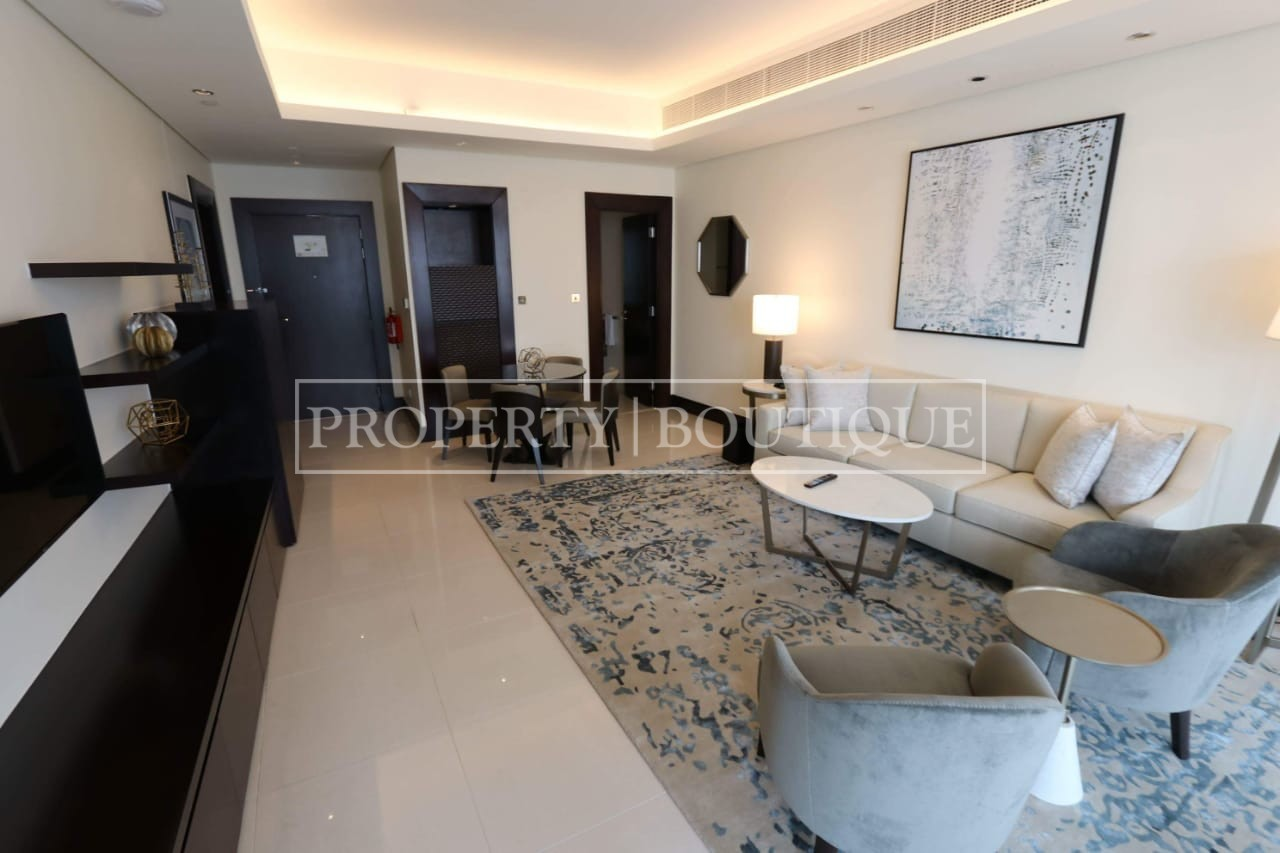 Meydan and Canal Views | Vacant | Serviced 1 Bed - Image 3