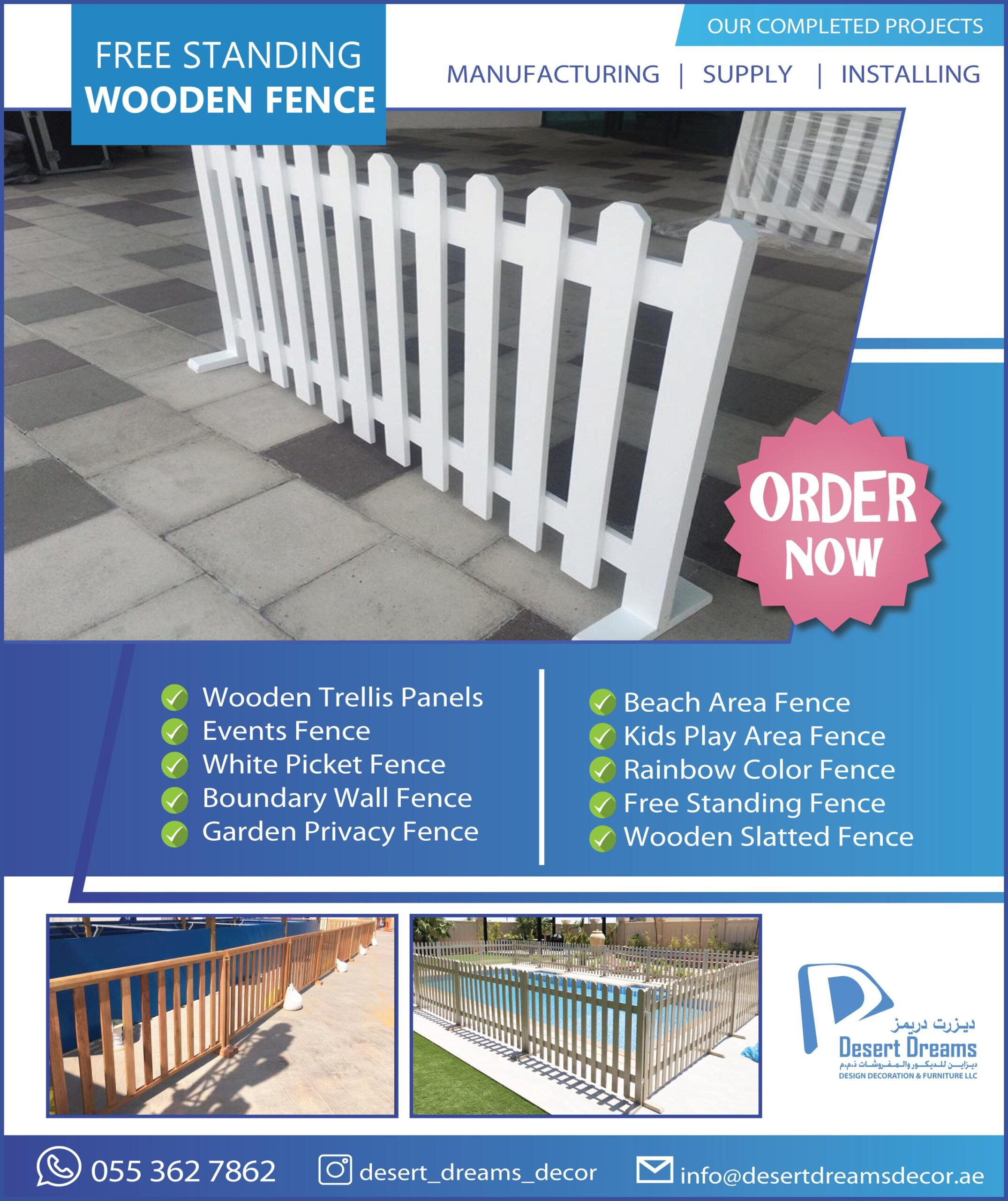 Events Fence UAE_White Picket Fence Dubai_Wooden Fence Company in UAE (4).jpg