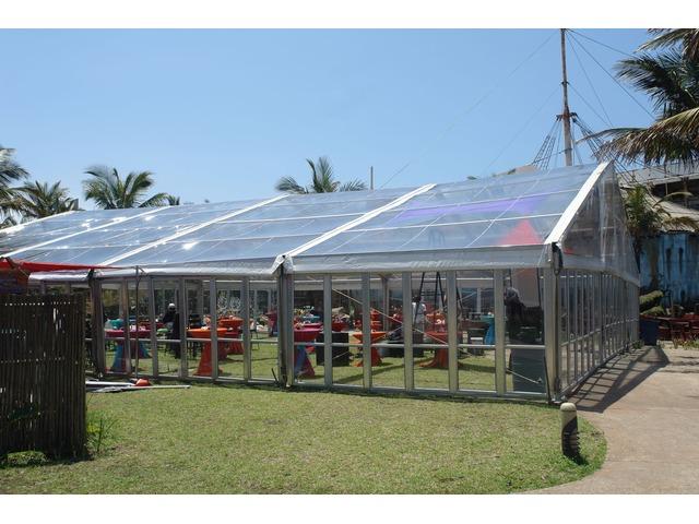 Transparent tent rental