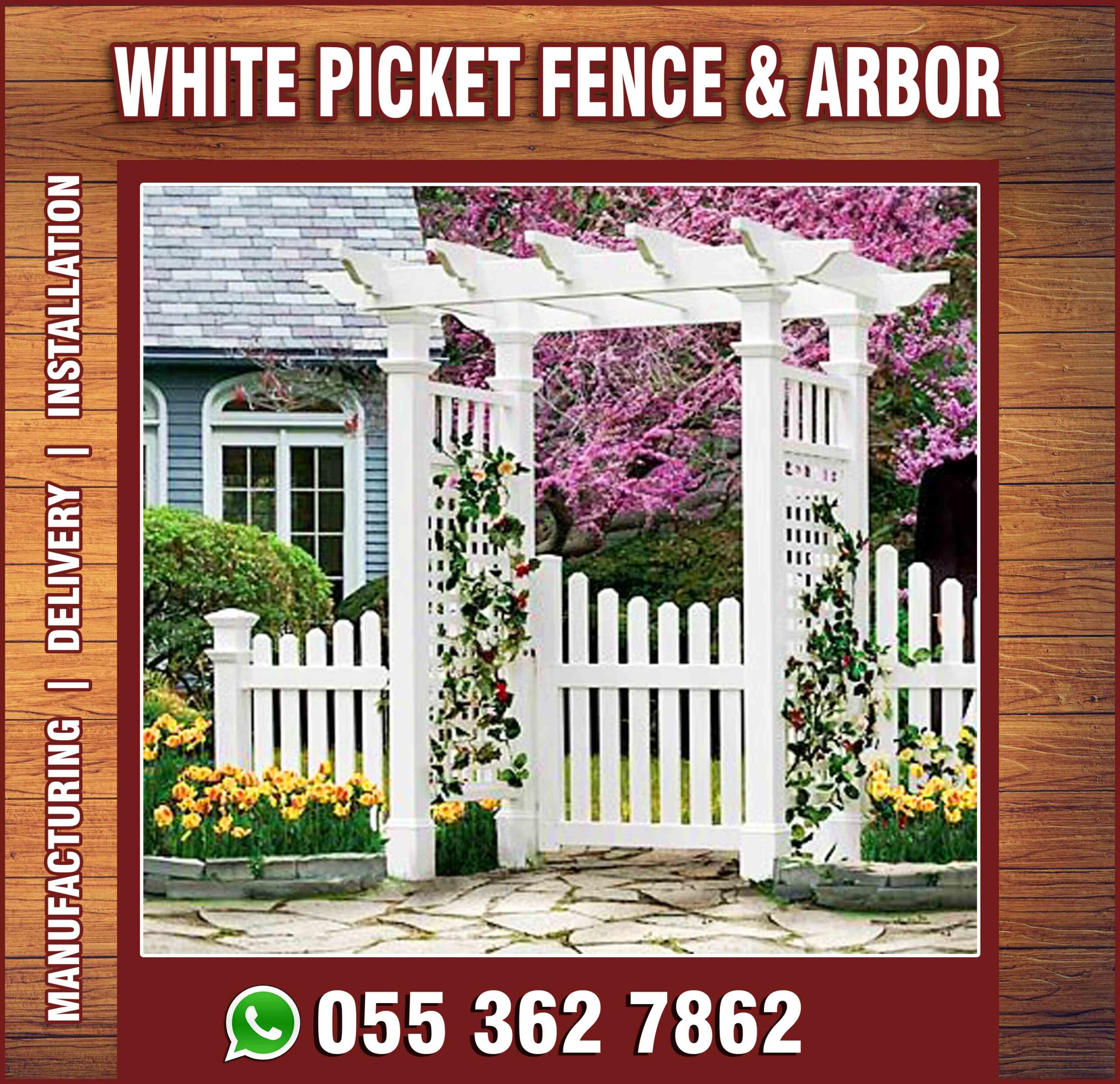 White Picket fences and Arbor in UAE.jpg