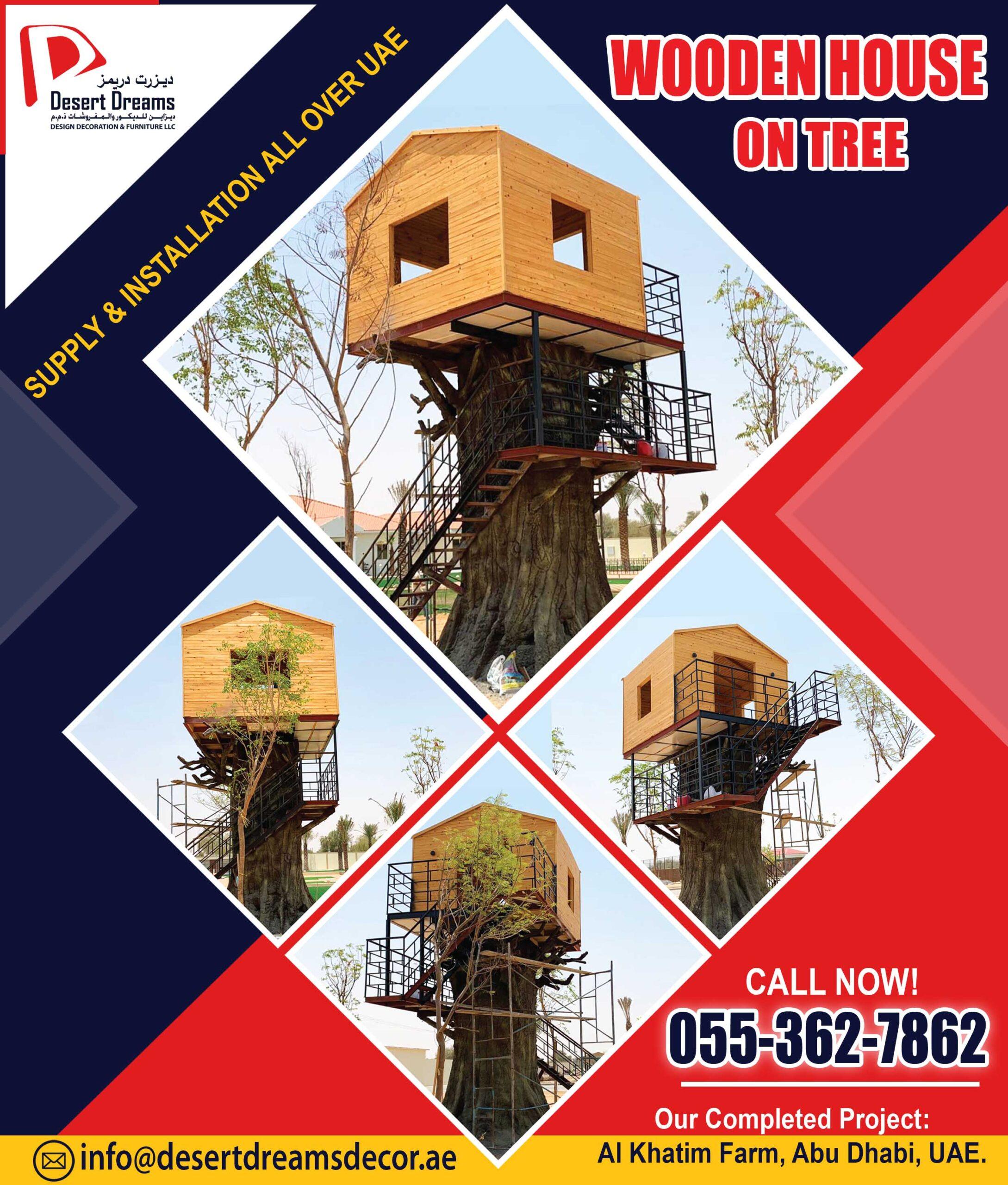 Wooden House on Tree Manufacturer in UAE.jpg