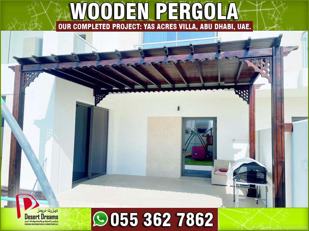 Wooden Pergola in Yas Acres Villa Abu Dhabi, UAE.jpg