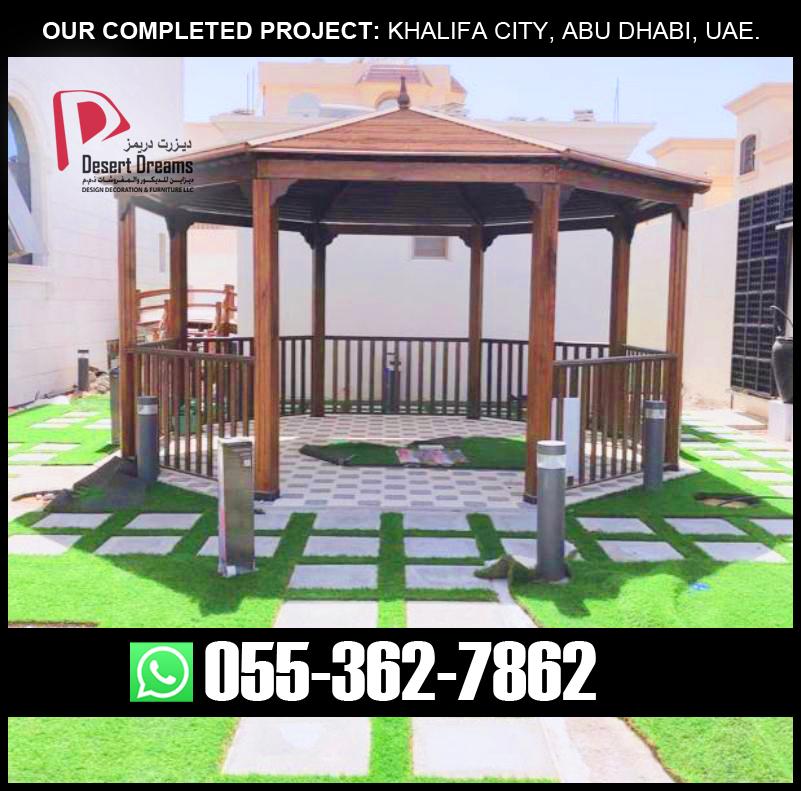 Wooden Roofing Gazebo in Dubai, Abu Dhabi, Al Ain, Ajman, UAE.jpg