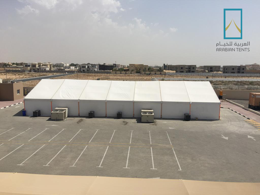 Summer Rest Tents for workers