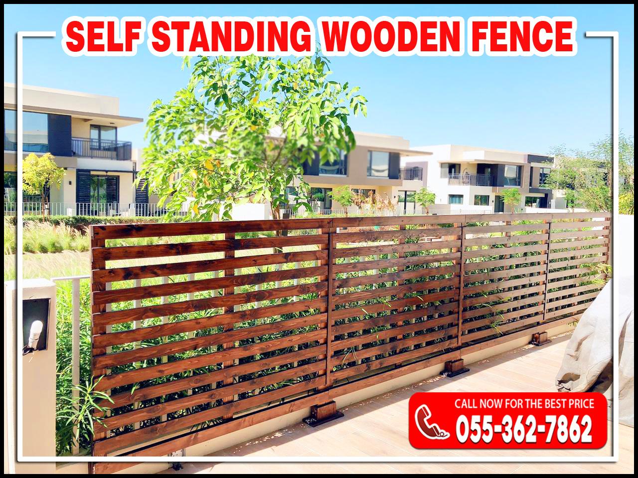 Self Standing Wooden Fences in UAE.jpg