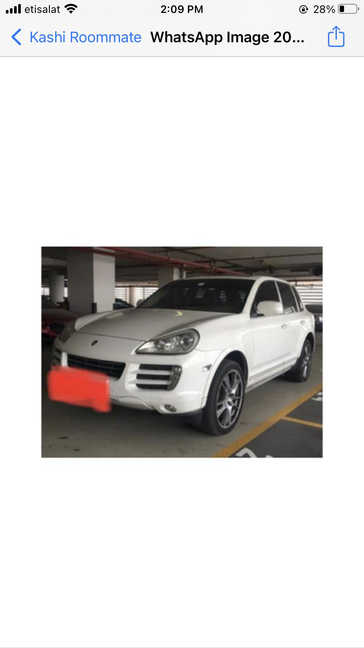 Porsche Cayenne S for sale no accident white color - Image 4