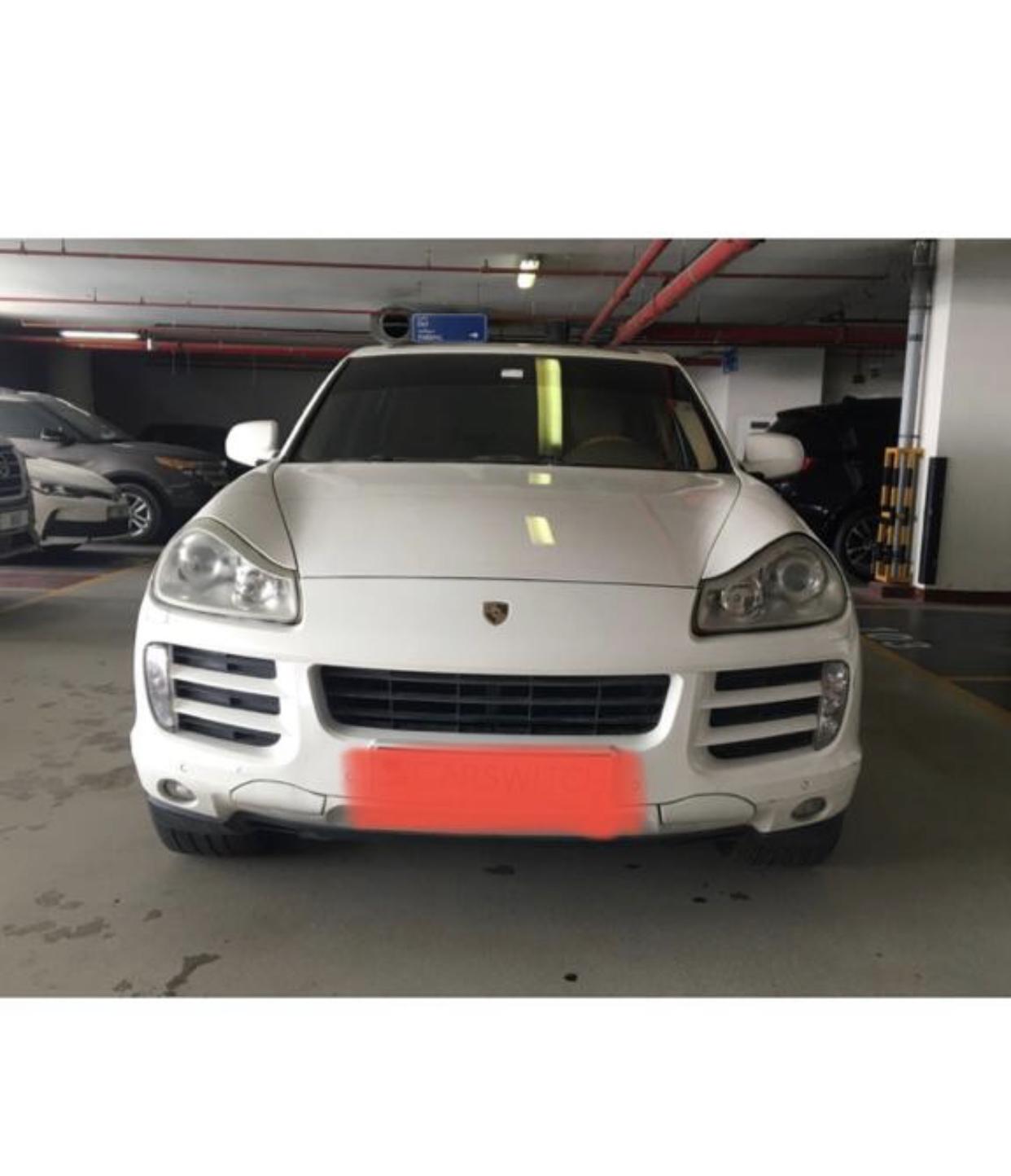 Porsche Cayenne S for sale no accident white color - Image 1